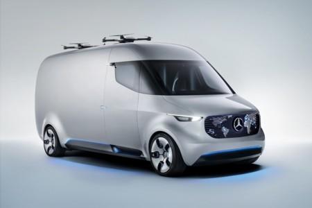 Mercedes-Benz Vision Van, así imagina la marca alemana el futuro de los vehículos de trabajo