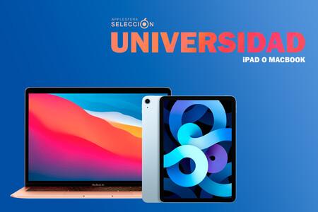 Voy a empezar la universidad y dudo entre MacBook y iPad, ¿cuál elijo?