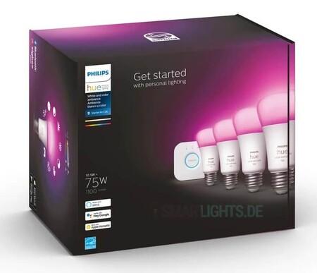 Philips prepara una renovación de sus bombillas Hue, ganando 300 lúmenes con respecto a la generación anterior