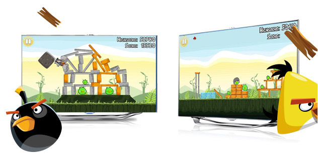 Samsung y Angry Birds