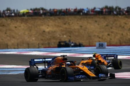 Sainz Norris Francia F1 2019