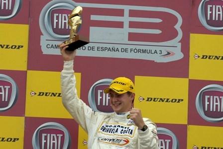 Germán Sánchez se acerca al liderato en nuestra Fórmula 3