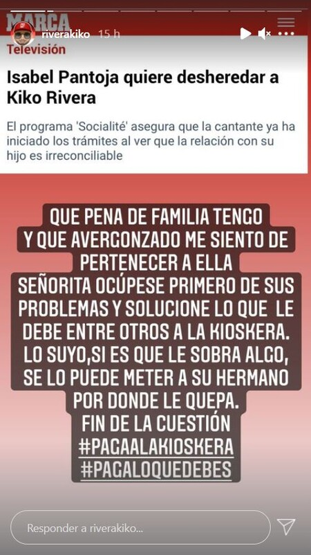 Kiko Rivera Isabel Pantoja