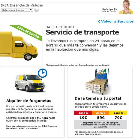 Fíjate bien en las nuevas tarifas de transporte de Ikea si quieres ahorrar