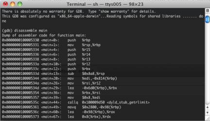 ¿Cómo funciona un depurador de C/C++? (Parte II)