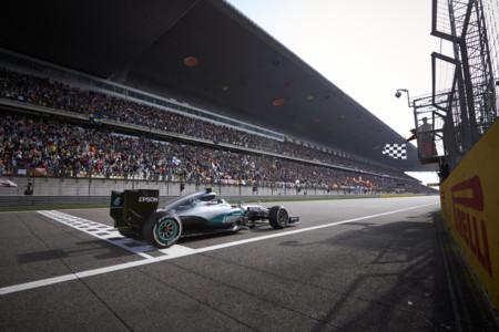 Mercedes Victoria China Gp 2016