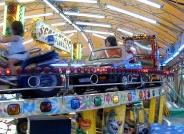El ruido de las atracciones de feria, un serio problema de salud para los niños
