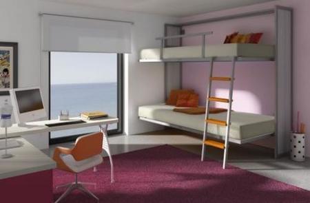 dormitorio crema y lila avant haus