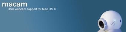 Macam: Nuevos drivers para usar webcams no soportadas por Mac OS X