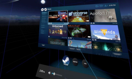 Htc Vive Menu