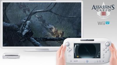 Podremos jugar al 'Assassin's Creed III' de Wii U desde el GamePad, incluso en 3D estereoscópico con gafas