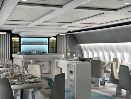 Un crucero, pero a bordo de un avión de lujo, una nueva manera de viajar con clase