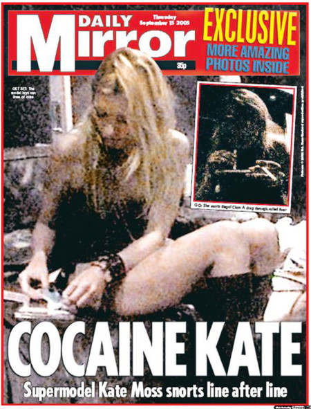 Kate Moss Cocaina Daily