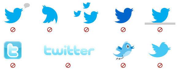 No permitido para identificar Twitter