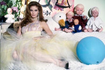 Tal como éramos: la primera sesión de fotos de Heidi Klum