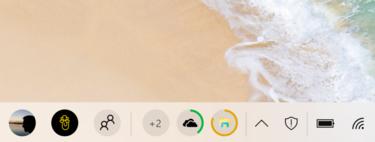 Este concepto intenta mejorar una de las partes más importantes de la interfaz de Windows: la barra de tareas