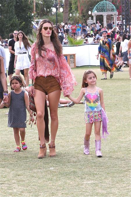 Alessandra Ambrosio Coachella 2014 mejor vestidas