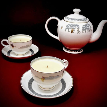 Memo Paris: Velas en porcelana que se convierten en objeto de deseo
