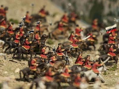 Museo de Miniaturas Militares en la Ciudadela de Jaca