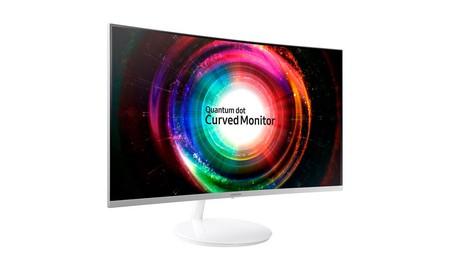 Resolución QHD y pantalla curva de 27 pulgadas para tu PC con el Samsung C27H711, que, en PcComponentes tienes más barato que en ninguna otra tienda, por 299 euros