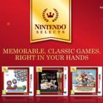 Cinco juegos más de Nintendo 3DS se unirán al catálogo de Nintendo Selects en junio