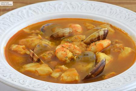 Sopa De Pescado Receta De Cocina Fácil Sencilla Y Deliciosa