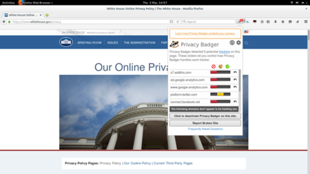 Privacy Badger Firefox