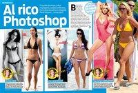 Eso sí que es retoque photoshop y no lo de Paula Vázquez