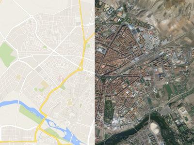 ¿Podrías saber en que ciudad estás si Google Maps no tuviera nombres?