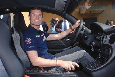 David Coulthard con la mirada puesta en la NASCAR