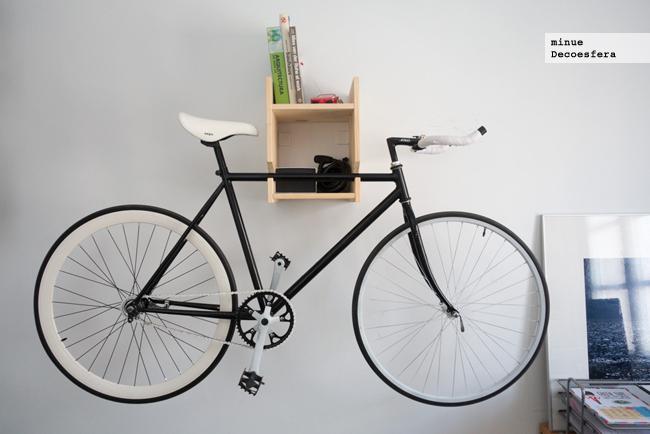 Hazlo t mismo una estanter a para colgar la bici - Guardar bicicletas en poco espacio ...