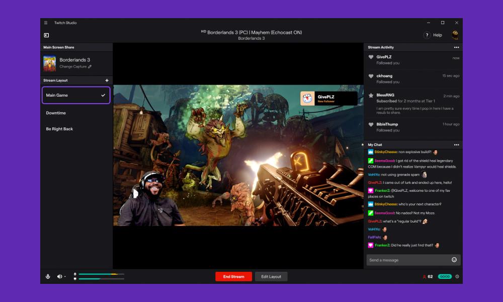 Ya está disponible Twitch Studio: una app que simplifica el proceso de dar vida a un streaming