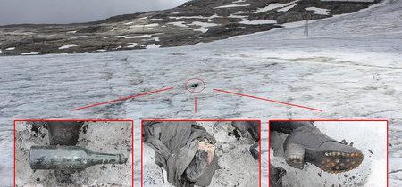 El calentamiento global está descubriendo un montón de cadáveres escondidos en los glaciares suizos