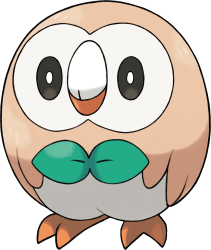 Pokemon Sol Luna Rowlet