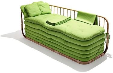 Un sofá cama para varios invitados