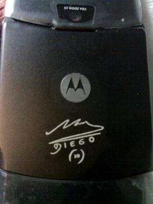 Motorola RAZR edición Maradona