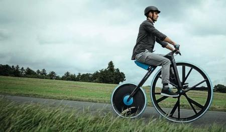 Velocípedo eléctrico BASF Concept 1865, realizado con plásticos de alta tecnología