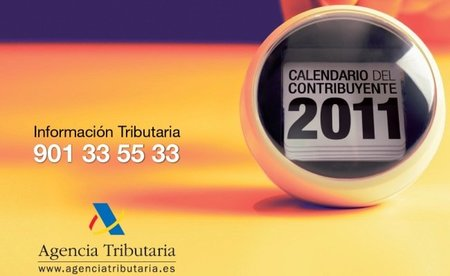 Disponible para su descarga el calendario del contribuyente 2011