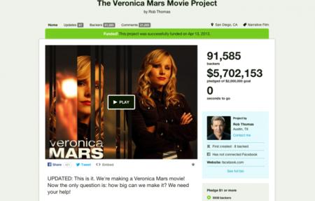Veronica Mars Crowdfunding