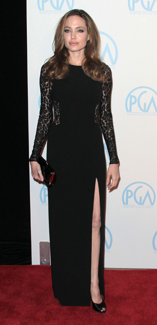 Angelina Jolie Annual Producers Guild Awards