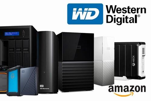Para todo tipo de equipos, necesidades y presupuestos: 42 discos duros Western Digital que puedes encontrar más baratos ahora, en Amazon