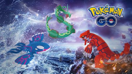 Groudon y Kyogre regresan temporalmente a Pokémon GO para enfrentarse a Rayquaza en las Incursiones