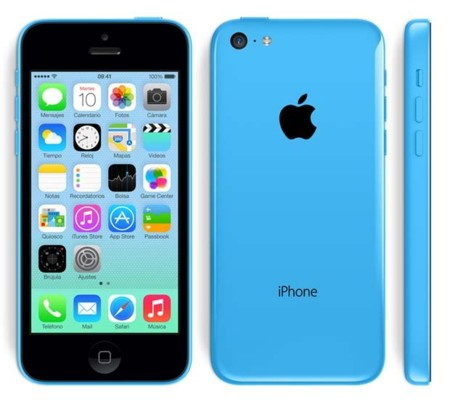 iPhone 5C Azul