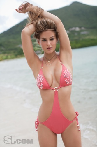 Bar Refaeli espectacular en el especial bañadores de Sports Illustrated, triquini