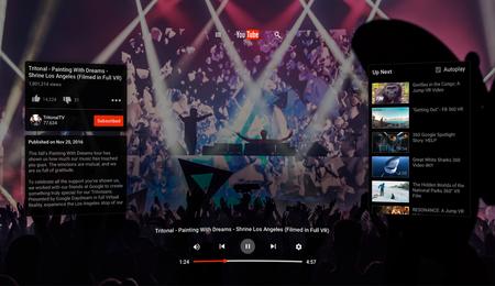 YouTube llega con todo a la realidad virtual con la App YouTube VR