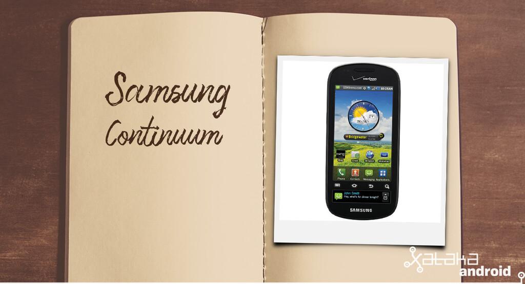 Móviles con los que flipaste en su día: Samsung Continuum