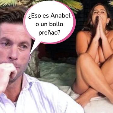 """Canales Rivera ridiculiza a Anabel Pantoja con este comentario sobre su físico: """"¿Está embarazada?"""""""