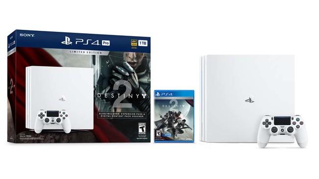 El PlayStation 4 Pro se pinta de blanco, con la edición limitada de Destiny 2