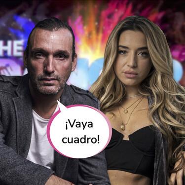 Profesor y alumna: La esperada disculpa pública de Rafa Méndez a Lola Índigo ha llegado a 'The Dancer' once años después de 'Fama ¡A bailar!'