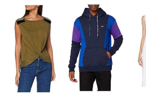 Ofertas en tallas sueltas de ropa de marcas como Tommy Hilfiger, Guess o Hugo Boss en Amazon